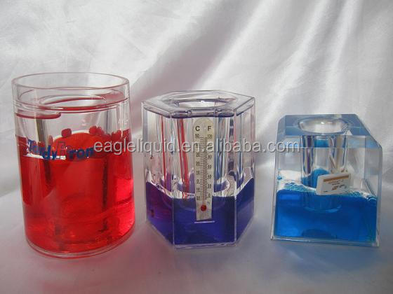 promotion colorful aqua pen holders with customer logo and floater