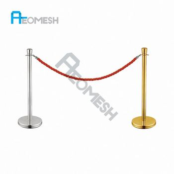 AEOMESH Hotel Crowd Master Rope Barriers
