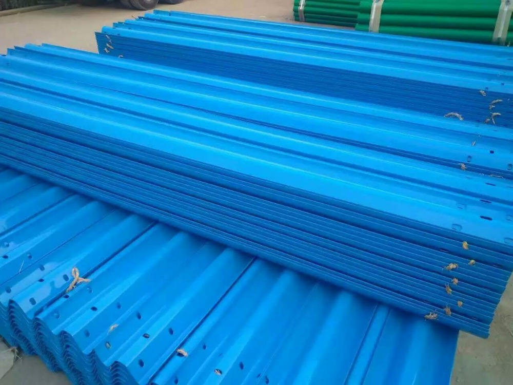 Top Accessed Guardrail Supplier / Alibaba China two wave Hot sale w beam safety pressed block