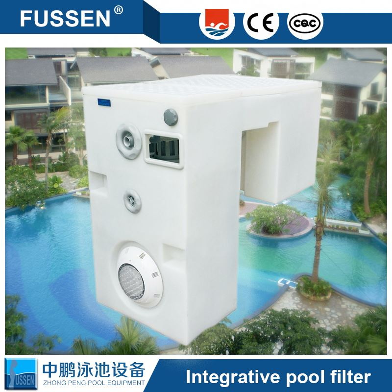 China Manufacturer Wall-Hung Pipeless Swim Pool Filter