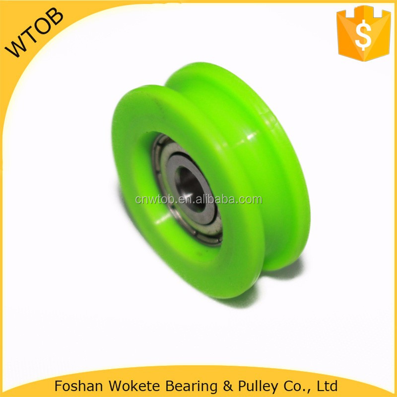 Shower Room Roller POM Injection Bearing Pulley Wheel
