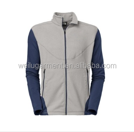 man fleece full zipper jacket
