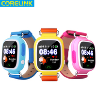 2016 factory price cheap gps kids smart watch D24 for kids