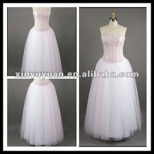 Sweet Girl Simple A-line Organza Sleeveless Evening Dress/ Prom Dress XYY-mal8