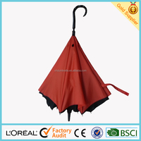 High quality inside out umbrellas with double canopies