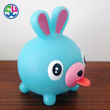 Soft PVC Custom Funny Anti-stress Animal wholesales pet toy