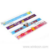 18cm Plastic Students Ruler