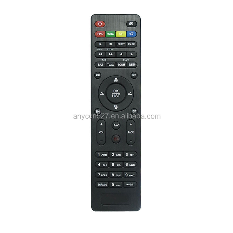 IR remote control used for TCL TV with learning function
