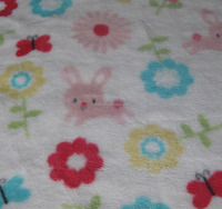 soft cartoon design fleece fabric for baby