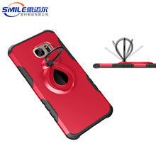 Alibaba China wholesale TPU+PC phone case with ring holder,ring holder phone case for samsung galaxy s7 edge