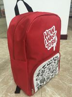 Simple Design 600D Polyester High Quality Backpack