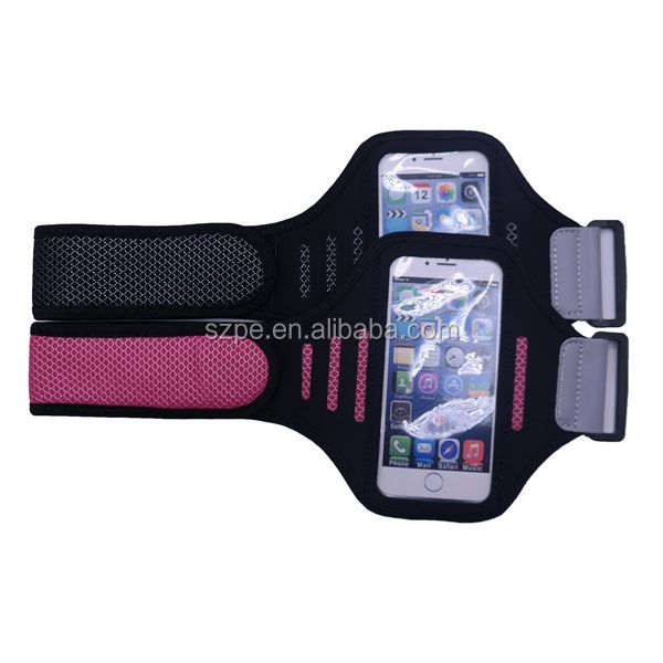 4.7 inch new arrival Lycra fabric running armband for mobilephone