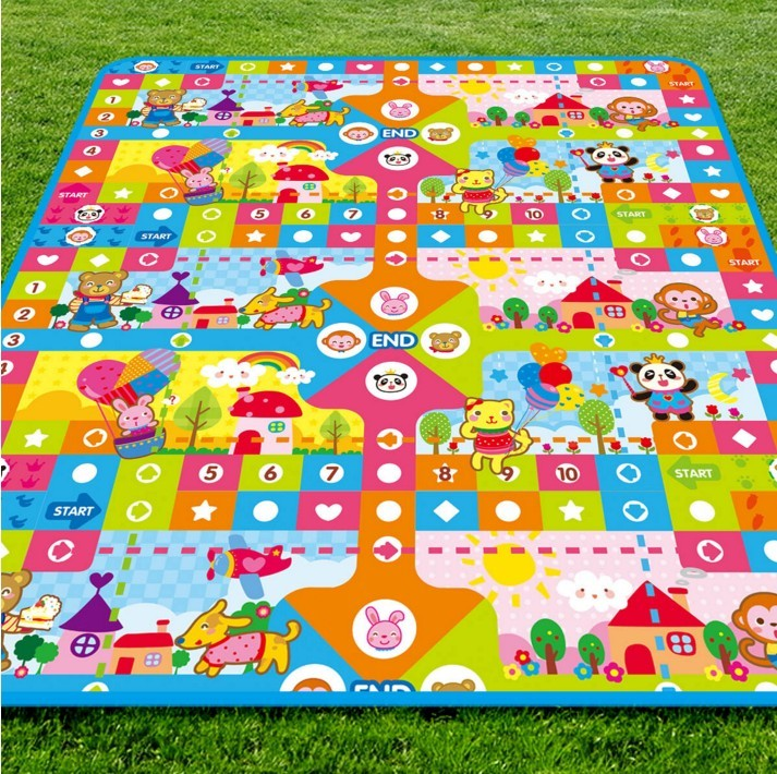 Non-toxic Soft Baby Play mats,Educational children kids folding puzzle play mat