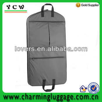 Wholesale polyester wedding dress garment bags buy for Wedding dress garment bag for air travel