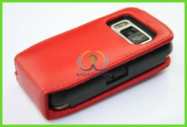 smart leather cell phone case with strap for nokia