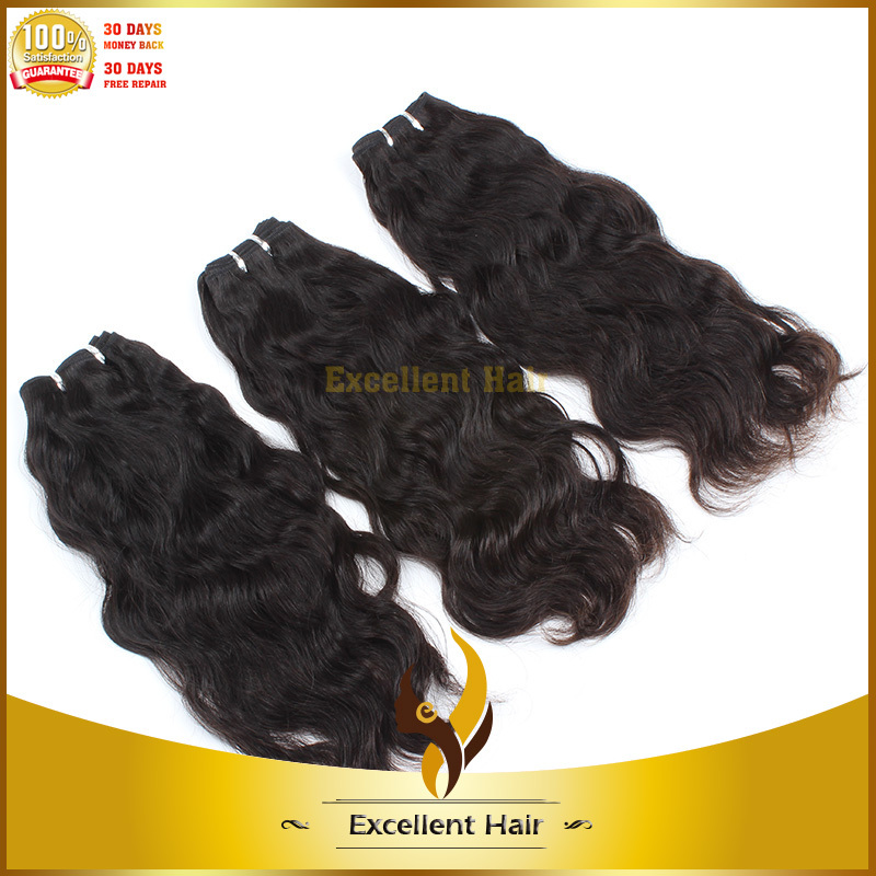 China Export Products Led Hair Extension Natural Wave Virgin Hair