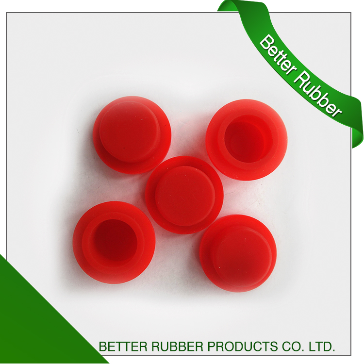 OEM custom silicone rubber cap button