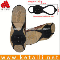 Good quality silicone running anti-slip ice grip shoe covers
