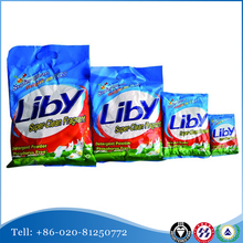 LIBY brand names of detergent washing powder