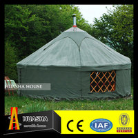 Modern wooden house prefabricated camping yurt made in china