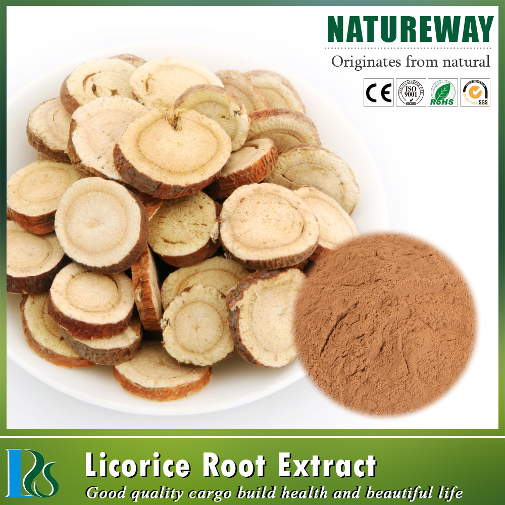Pure Natural Licorice P.E./ Radix Glycyrrhiza Extract Powder with glycyrrhizic acid, glycyrrhizin