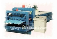 QJ automatic color steel 23-205-820 glazed tile polishing machine