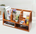 bamboo Desk Organizer book Storage Shelves