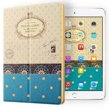 Modern Vintage Book Style pattern Shockproof tablet case kids double fold cover for ipad mini123 ,for Ipad mini2