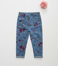 girls tight pants french terry pant with WRAP and BSCI certificate