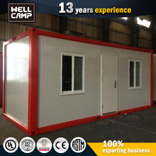 Prefab Ready Made Flat Pack Romania Steel Container House