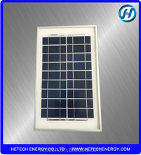China factory direct supply poly 5w mini solar panel with good price