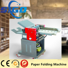 SG-ZY380 Industrial Automatic High Speed Cross Folder Paper Folding Machine