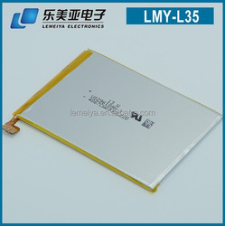 LEMEIYA spice cell phone battery batteries made in china LIS1501ERPC for Sony Xperia ZL L35H 2330mah 3.7v