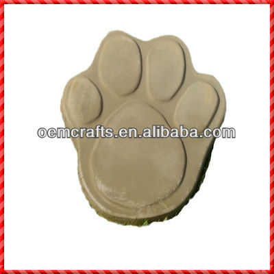 Footprint shaped fashion garden foot stepping stone