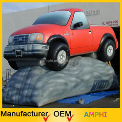 customized giant promotion inflatable car model for sale