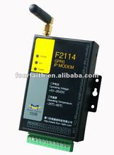 wireless gsm gprs modem rs232/rs485 for power and water remote meter reading(f2114i)