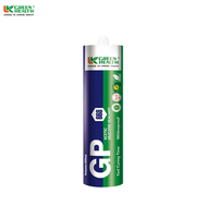 Colored fast dry construction acetic silicone sealant
