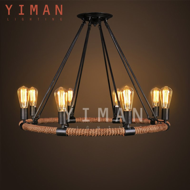 2017 hot sale New Chinese ceramic chandelier
