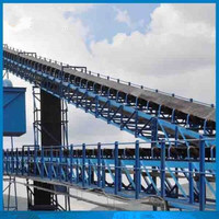 EP rubber conveyor belt for corn /middle-long distance transportation