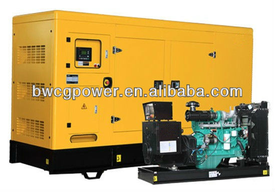 100kW Soundproof Stc Serie Three Phase Generator
