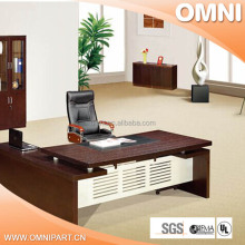 hot selling economical melamine office desk , office table and file cabinet