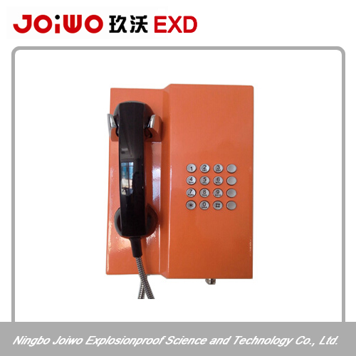 hot black retro phone handset vandal-proof phone keypad