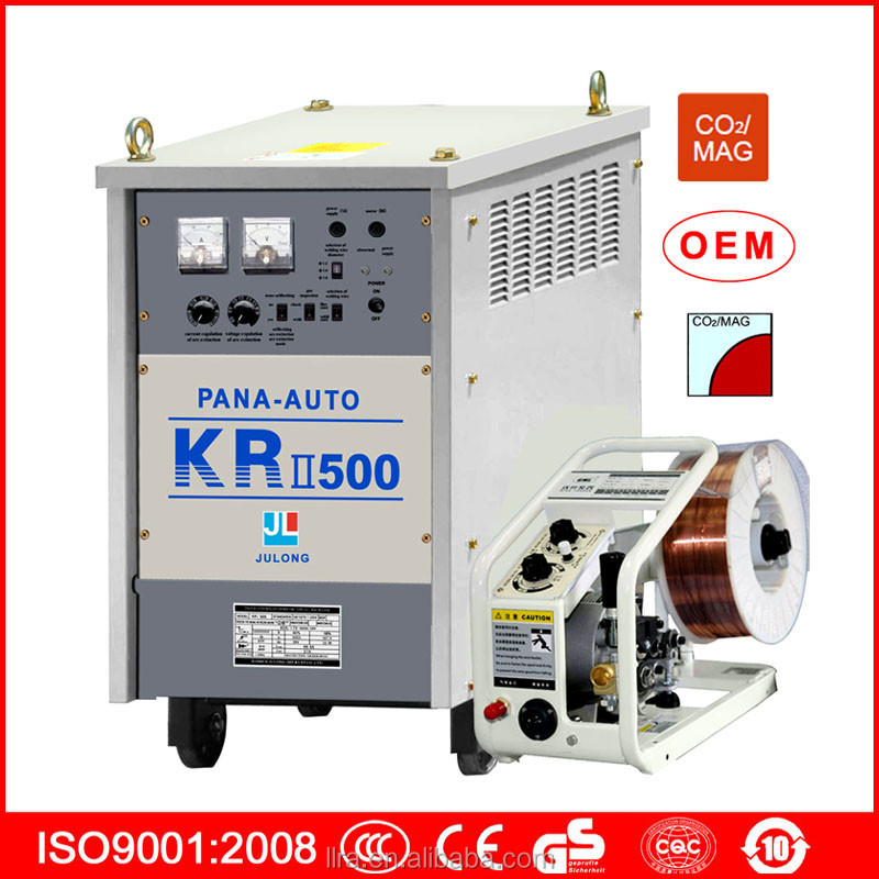 Best quality panasonic KR CO2 welding machine with thyristor control KR-500