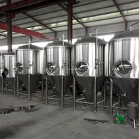 Turnkey Service Stainless Steel Beer Brewery