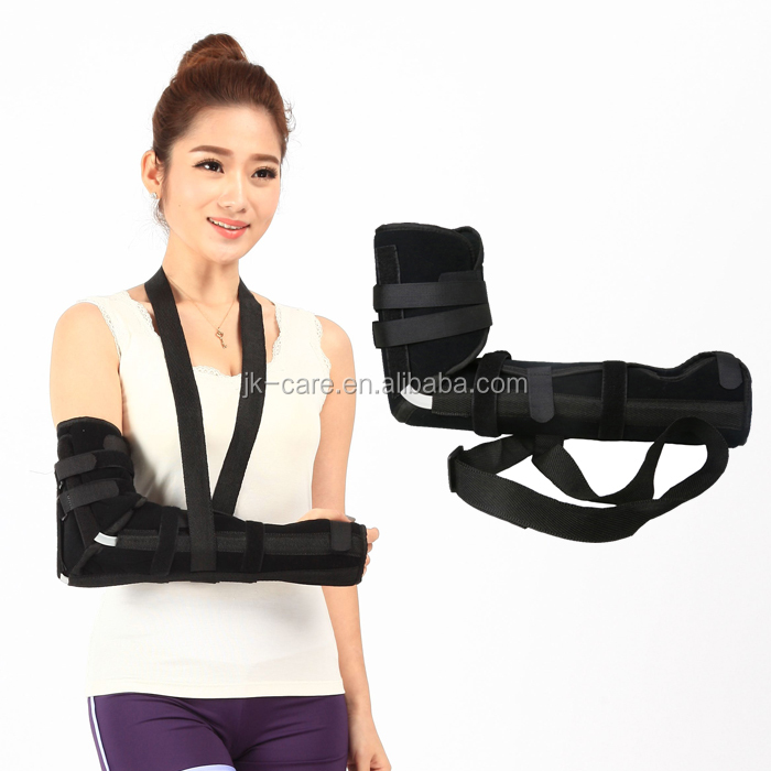 elbow humeral fracture arm support immobilization elbow support arm sling orthopedic hinge elbow brace