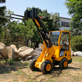 Alibaba popular case articulating small articulated wheel loader with CE certification