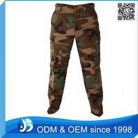 Customized Woodland Camo Pants For Men