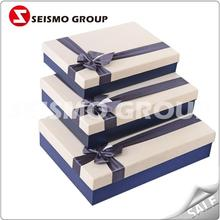 packing carton box design square gift boxes with lid
