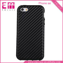 For iPhone 7 Carbon Fiber Case TPU Shockproof Soft Cover Case For iPhone 5 Se 6 6Plus 7 7Plus