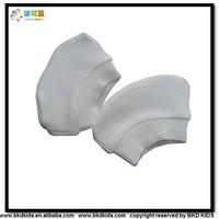 BKD white bamboo baby mittens from China